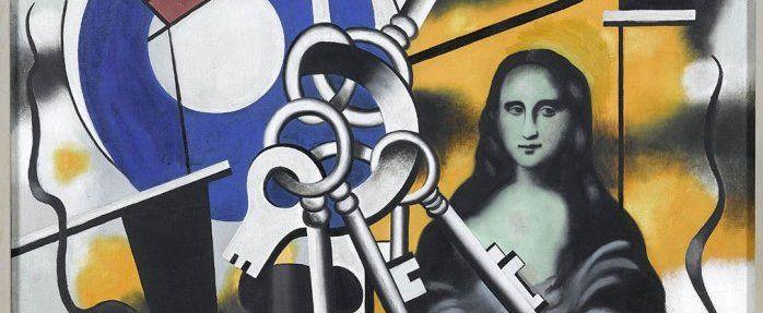 la joconde aux clefs f. leger | La Joconde aux clés, 1928 © RMN-Grand Palais (musée Fernand Léger ...