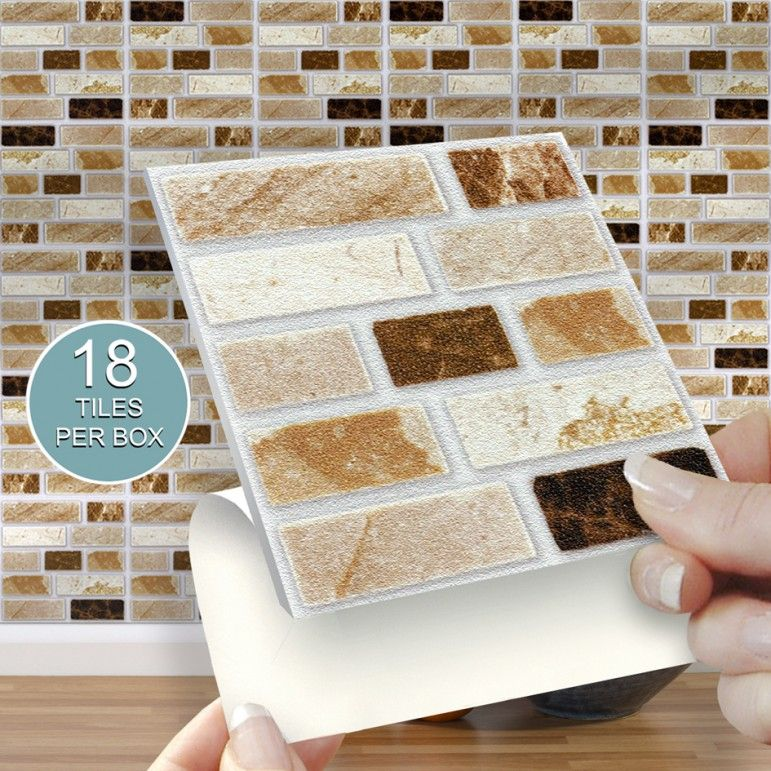 Self Adhesive Wall Tiles For Kitchens And Bathrooms Stone Tablet 4 X 4 Tiles 10cm X 10cm Tile Stickers Kitchen Self Adhesive Wall Tiles Adhesive Tiles