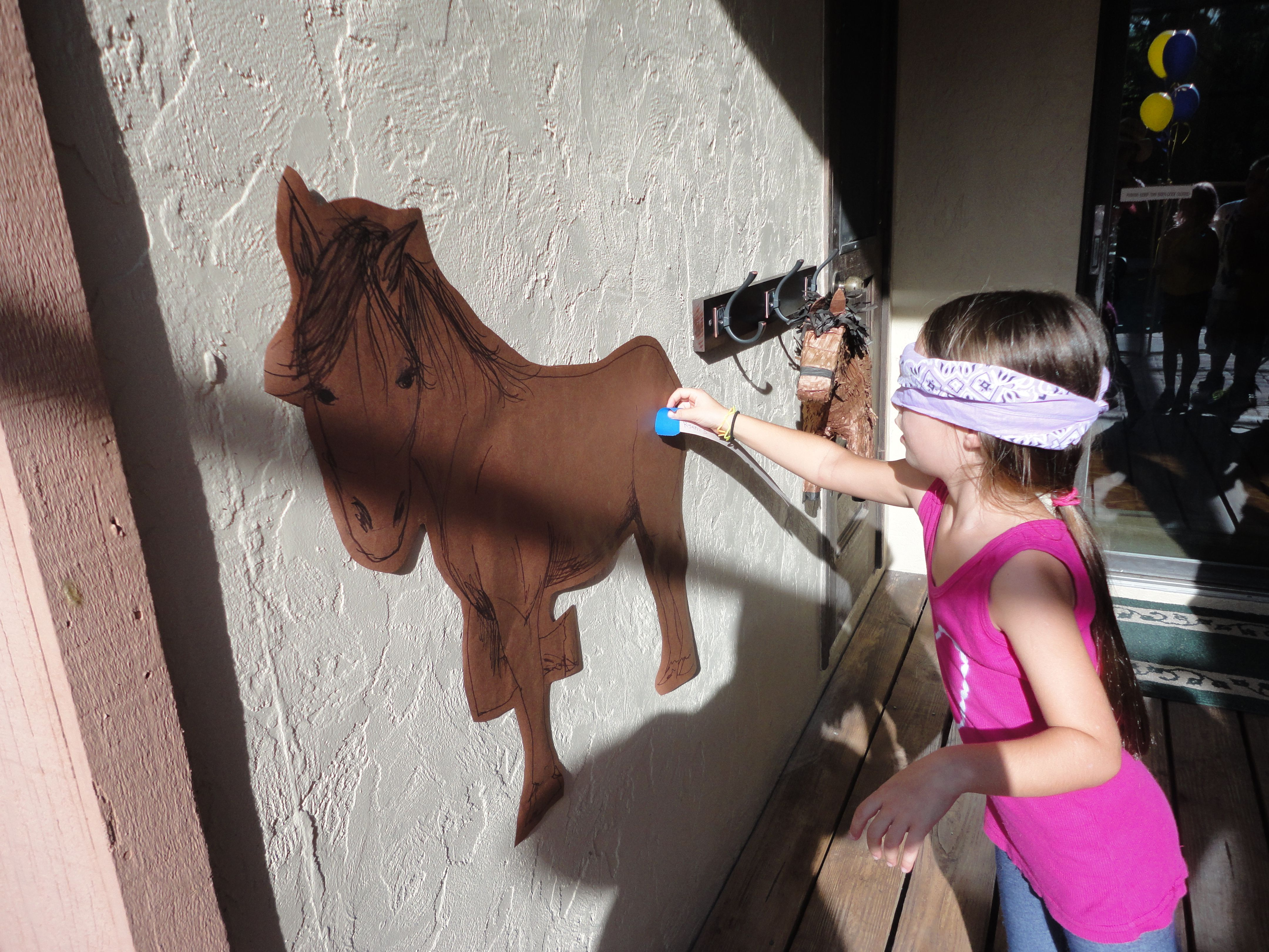 Make Your Own Pin The Tail On Pony Party In