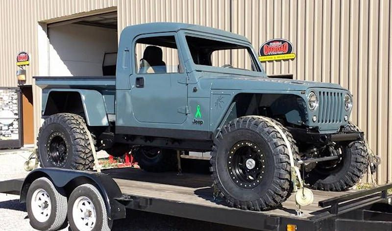 Jeep Tub Trailer Re Fiberglass M416 M100 Military Style Trailer