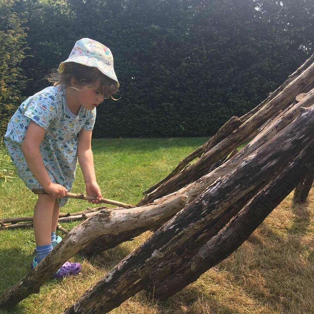 Den building is serious work. Thank you to everyone who shared their pictures with us! . . 📸 @justanormalmum_ thank you for tagging us in your adventure today! . . #denbuilding #Trek25 #NationalWalkingMonth #nature #naturelearning #natureisamazing #trustnature