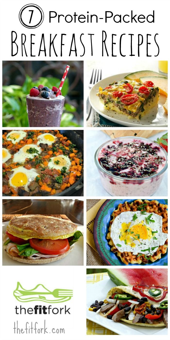 7 Protein-Packed Breakfast Recipes + #ProteinChallenge -  thefitfork.com