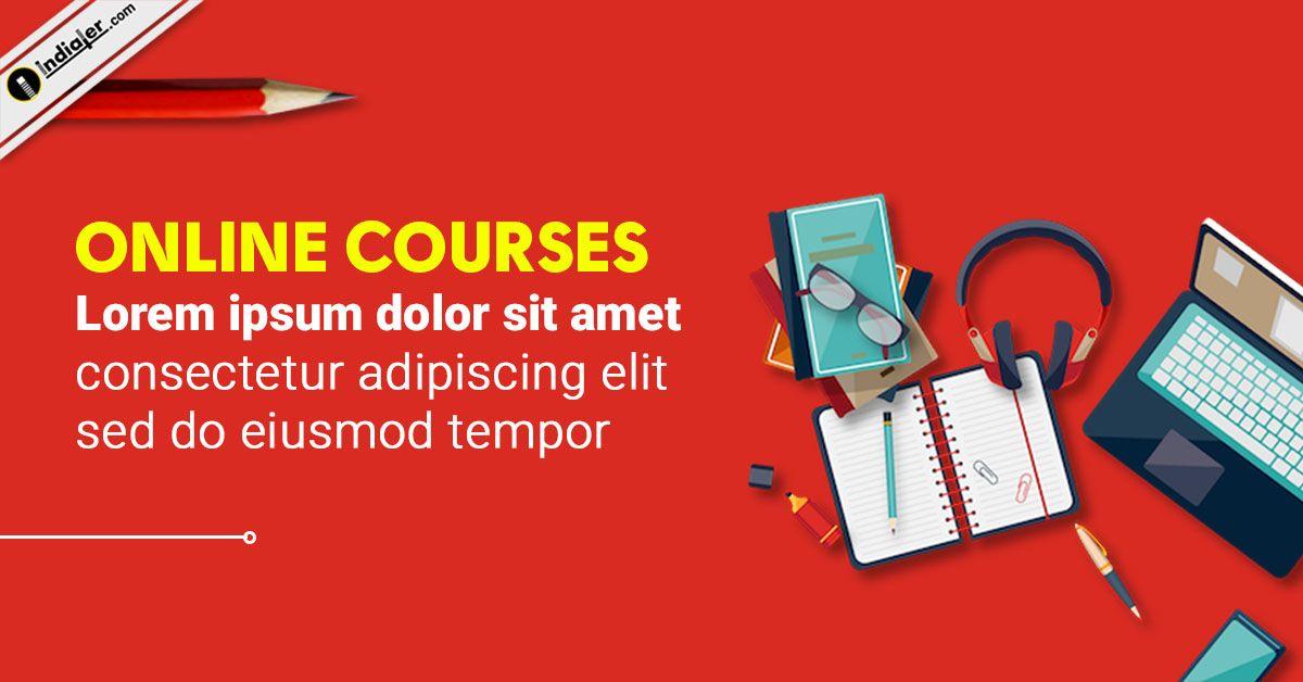 Online Free Course Education Banner Design Templates Education