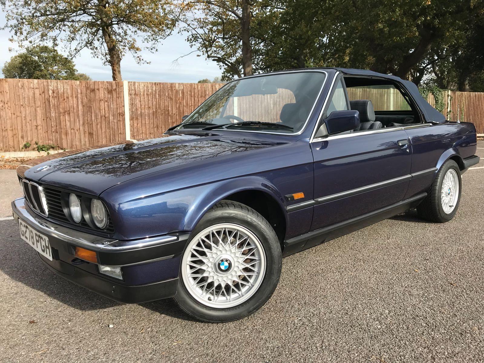 BMW E30 320i cabriolet 325i Manual Royal Metalic Blue convertible 93k:  £0.99 (0 Bids) End Date: Wednesday Feb-28-2018 20:19:04 GMT Bid now…