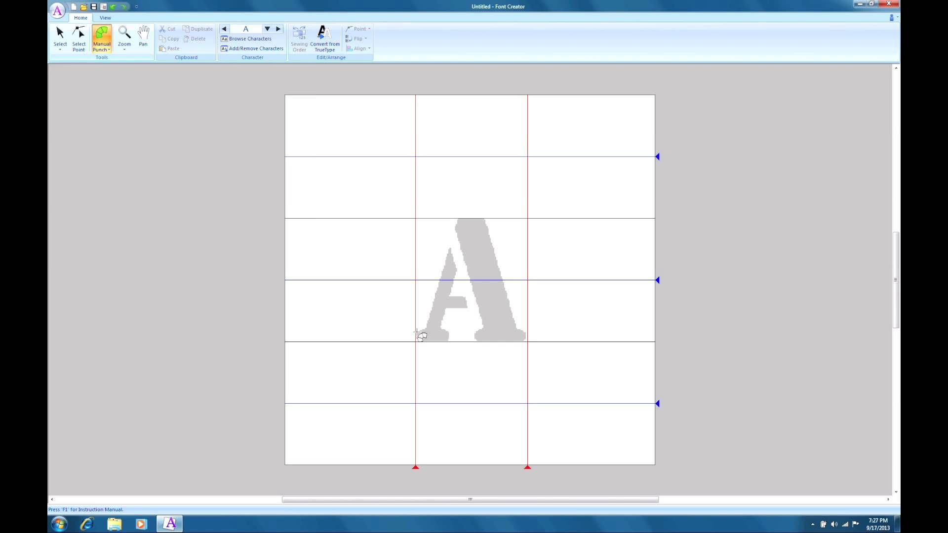 Pe Design Next Tutorial Chapter 210 How To Use The Font Creator