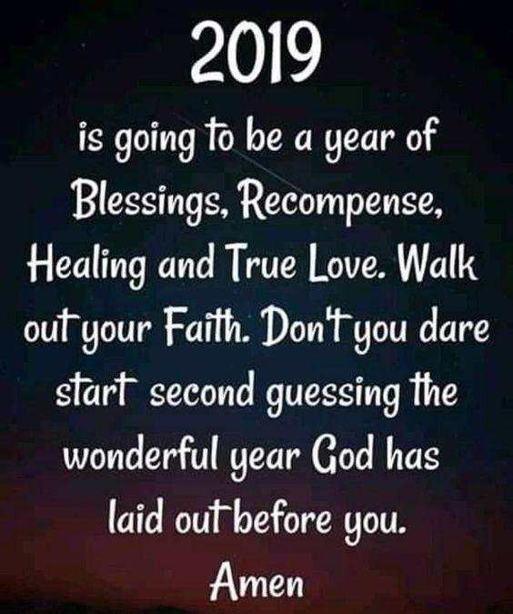 New Year Inspirational Quotes Jesus 2019 For Friends
