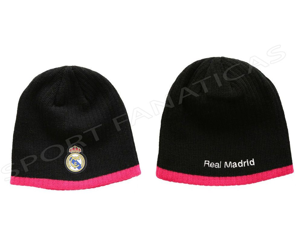 REAL MADRID BEANIE HAT Reversible authentic official licensed product Ronaldo 7 #RHINOX #RealMadrid