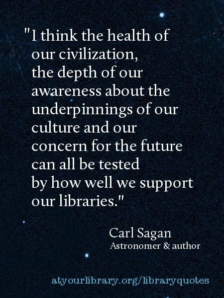 Carl Sagan Love Quote Magnificent 1000 Images About Quotes About Libraries On Pinterest. Book