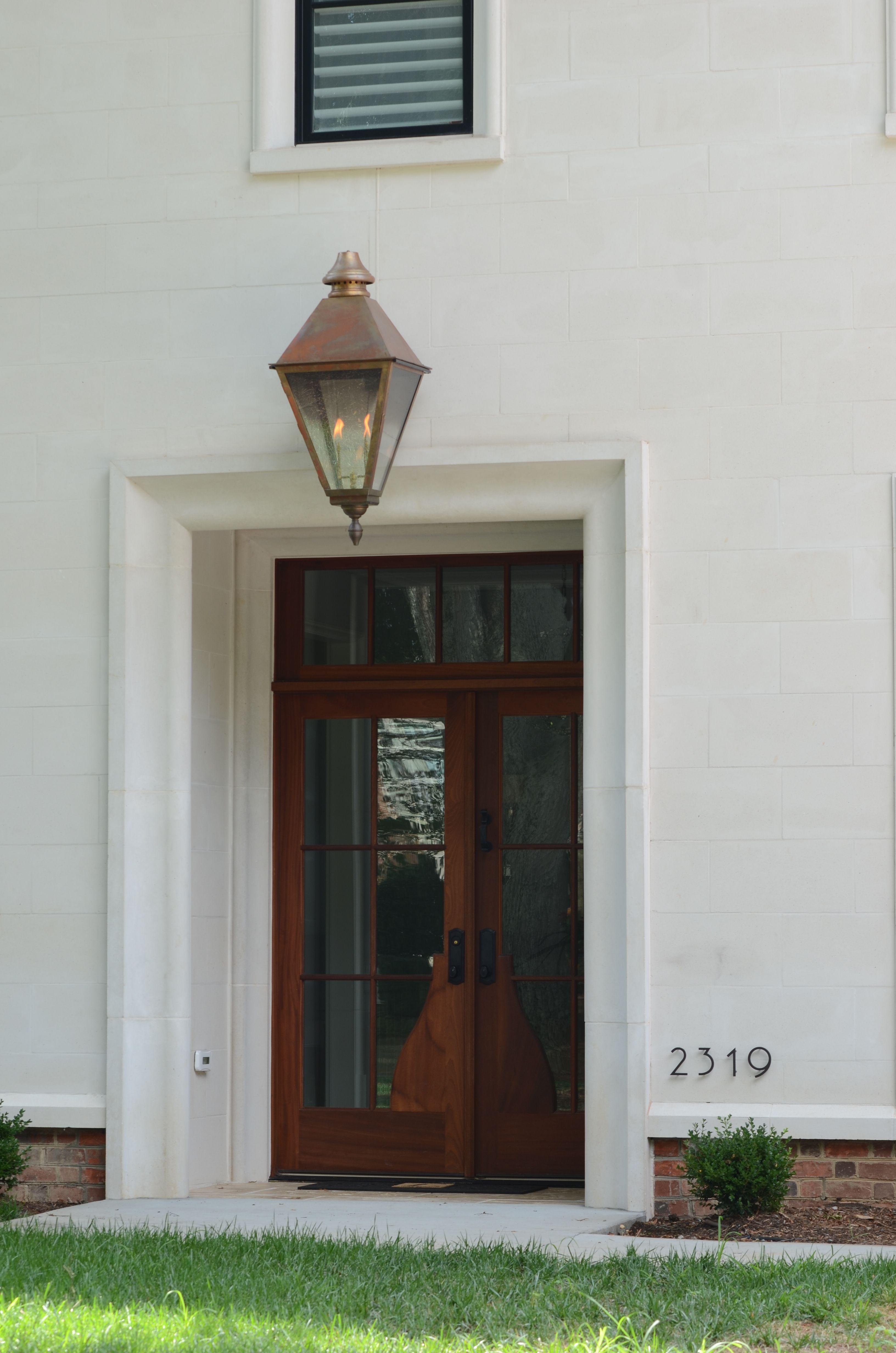 Ch 25v Customer Homes Lantern Scroll Front Door