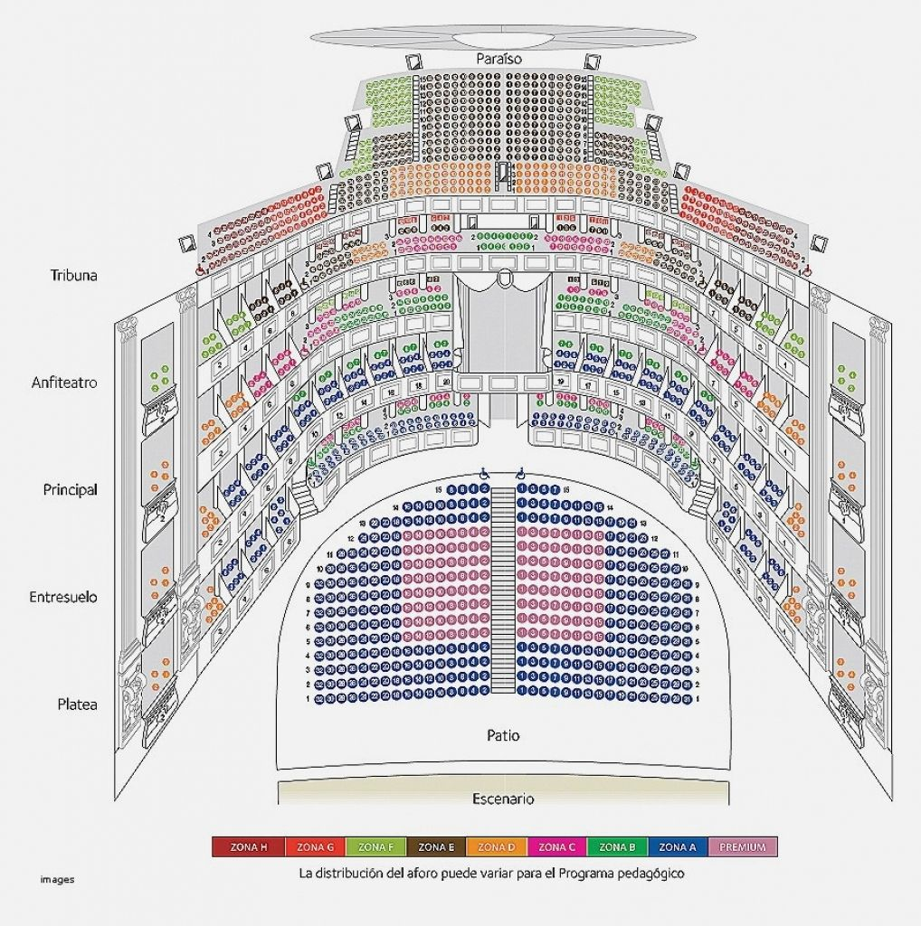 The Most Elegant And Interesting Joan Sutherland Theatre Seating Plan Di 2020