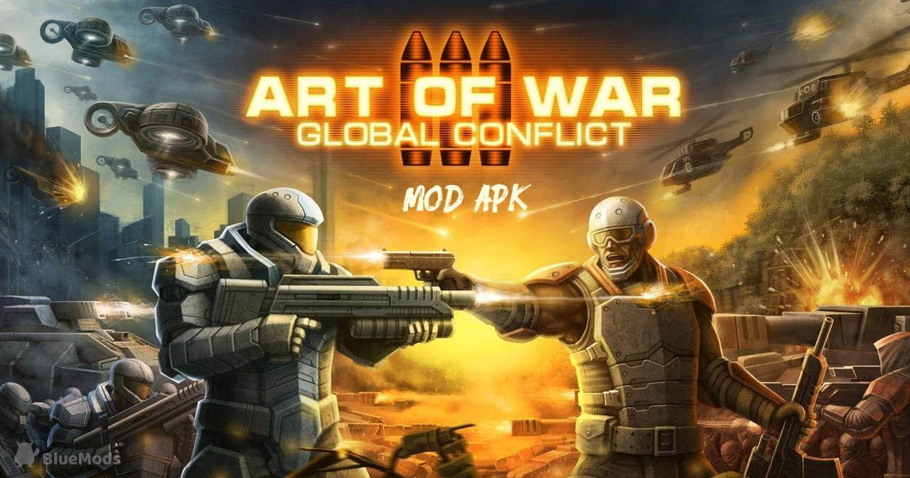 Art Of War 3 Mod Apk Unlimited Gold And Money Android