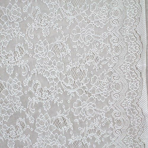 Simple white lace Wedding Dress FabricLace