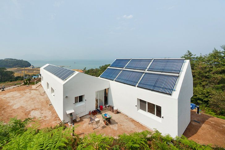 Sosoljip is a Self Sufficient Net Zero Energy House in South Korea