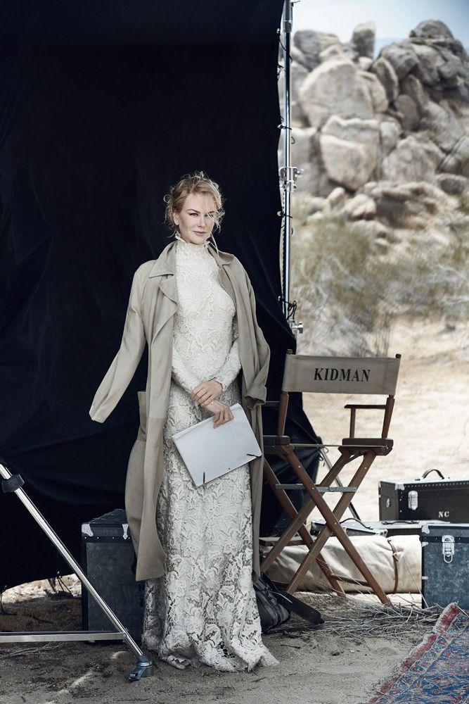 A World Apart, Peter Lindbergh | Nicole Kidman, American Vogue 2015 | Tonne Goodman, Shay Ashual, Diane Kendal | Mojave Desert