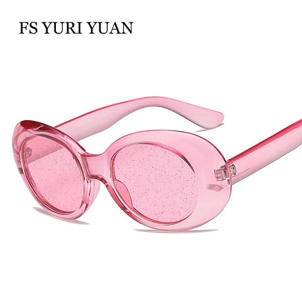 7086f7cc09a  BestPrice  Fashion FS YURI YUAN New Candy Colors Oval Crystal Sunglasses  Women Cool Party