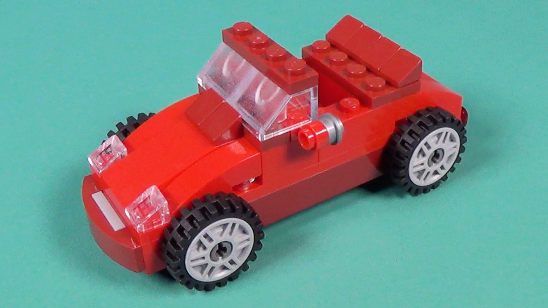 "Lego Car Building Instructions Lego Classic 10695 ""How"