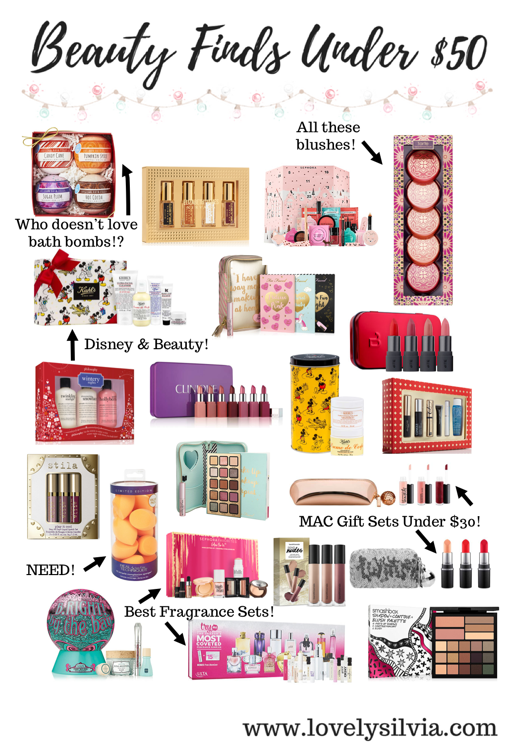 Beauty Finds Under 50 Mac gift sets, Birthday gifts for