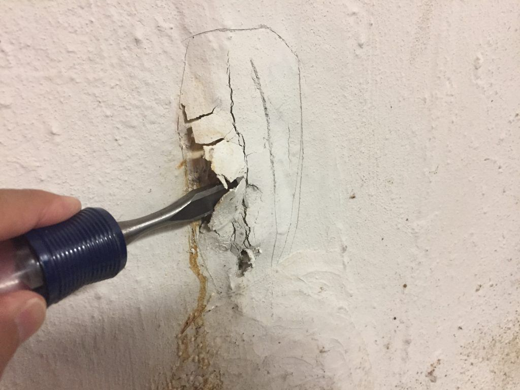 How To Repair A Leaky Basement Wall All About The House In 2020 Leaky Basement Leaking Basement Basement Walls