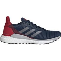 Photo of Adidas men's running shoes Solarglide 19, size 46? in dark blue / red / white / gray / black, size 46? i
