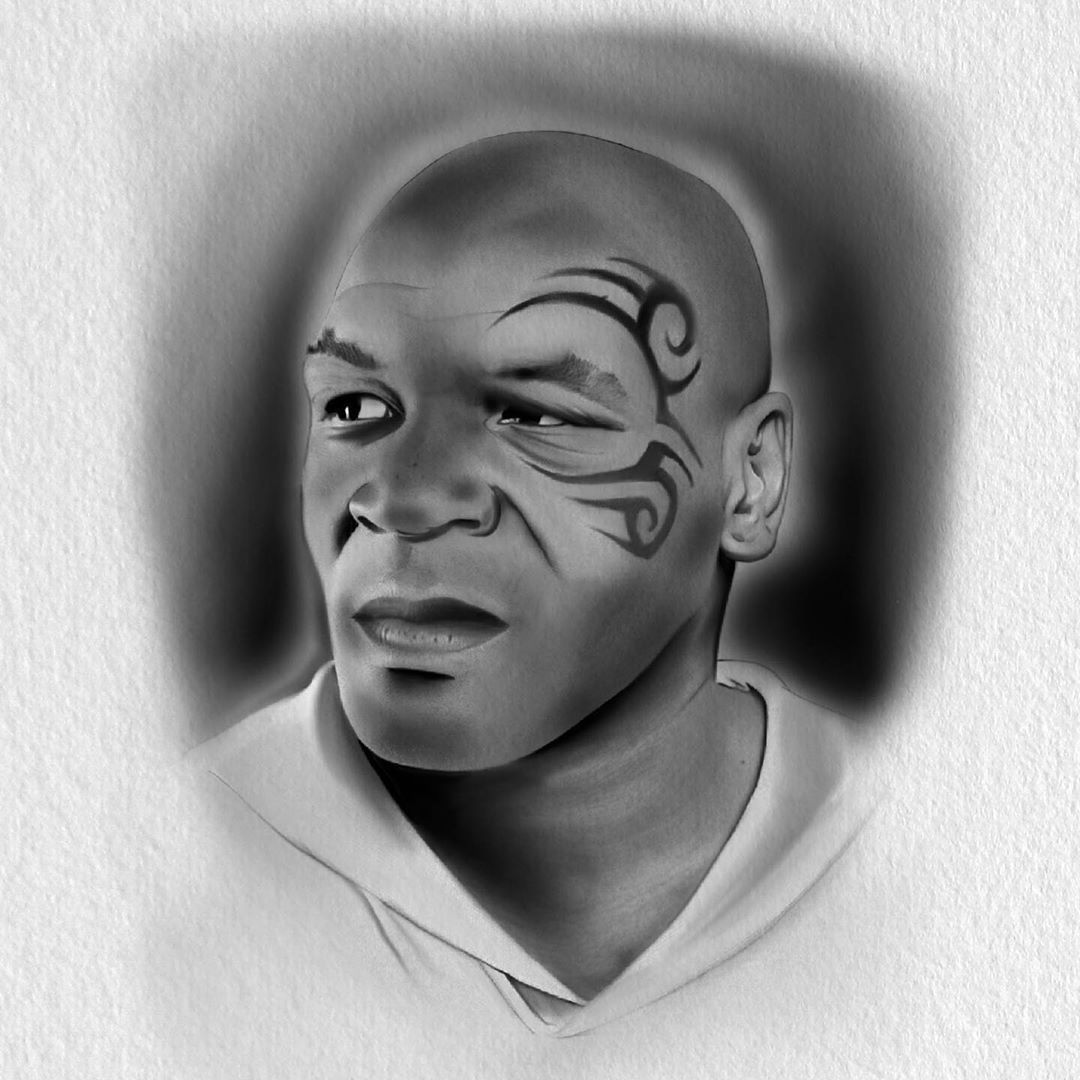 The real tiger king @miketyson @hardlucktattookilmarnock #hardluck #drawing #painting #design #paint #illustration #illustrator #draw #doodle #art #artist #artistsoninstagram #artwork #tattoo #tattoos #ink #inked #inkedgirls #inkedmag #tattooflash #procreate #fashion #lifestyle #photooftheday #boxing #sport #tyson #ironmike #miketyson #tribal