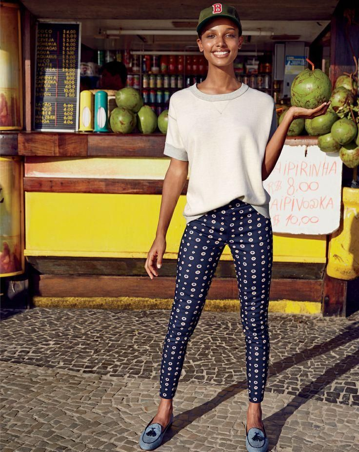 4f1624a5462d MAR  14 Style Guide  J.Crew Minnie pant in foulard and the Biella tassel  loafers.