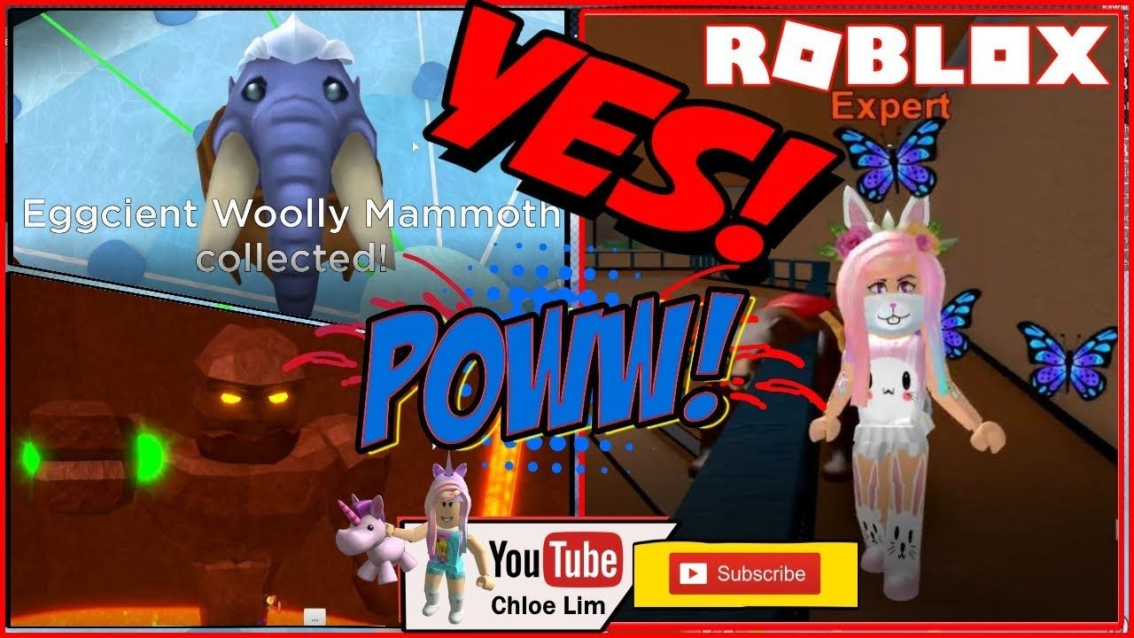 Epic Minigames Getting Eggcient Woolly Mammoth Egg From The