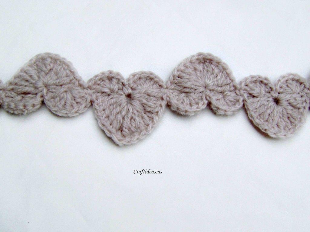 Crochet Garland - Tutorial | Bordi Realizzati All\'uncinetto ...