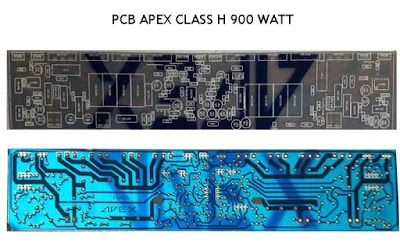 Power Amplifier APEX H900 - Efficient, Flat and Powerful