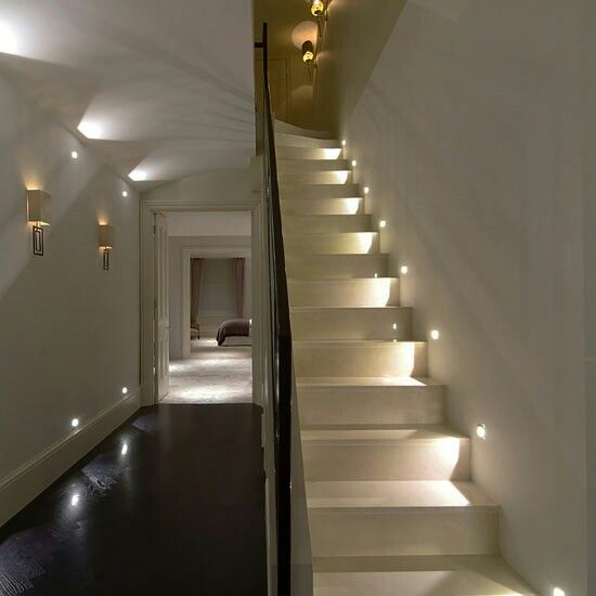 Placement Stairwell Staircase Lighting Ideas Ideal Home Stair Lighting