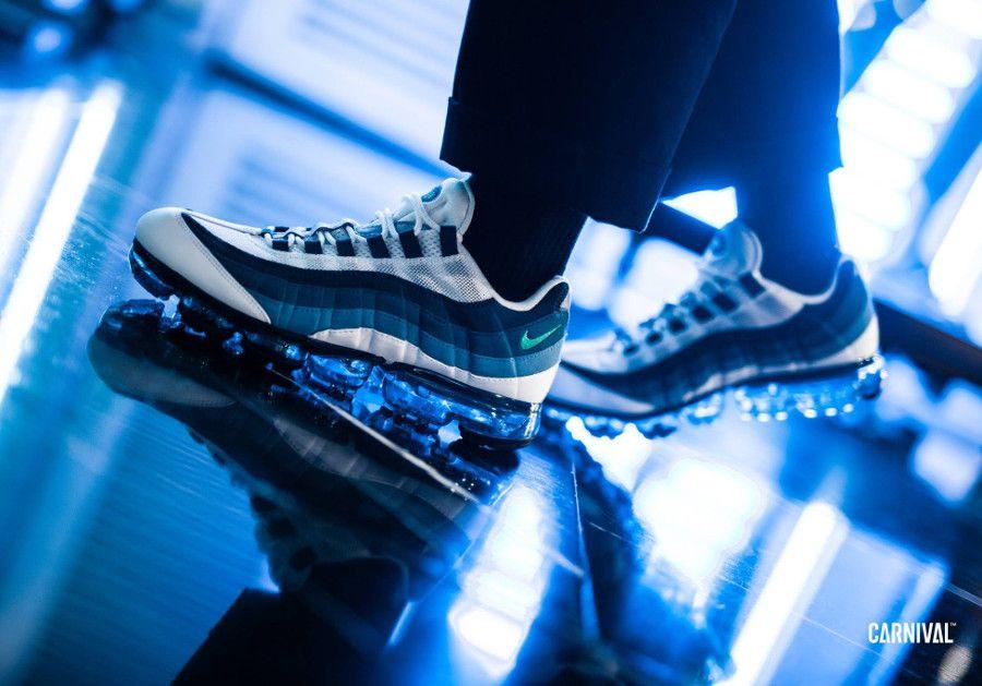 Nike Air Max 95 Vapormax OG 'Slate Blue' #nike #airmax95