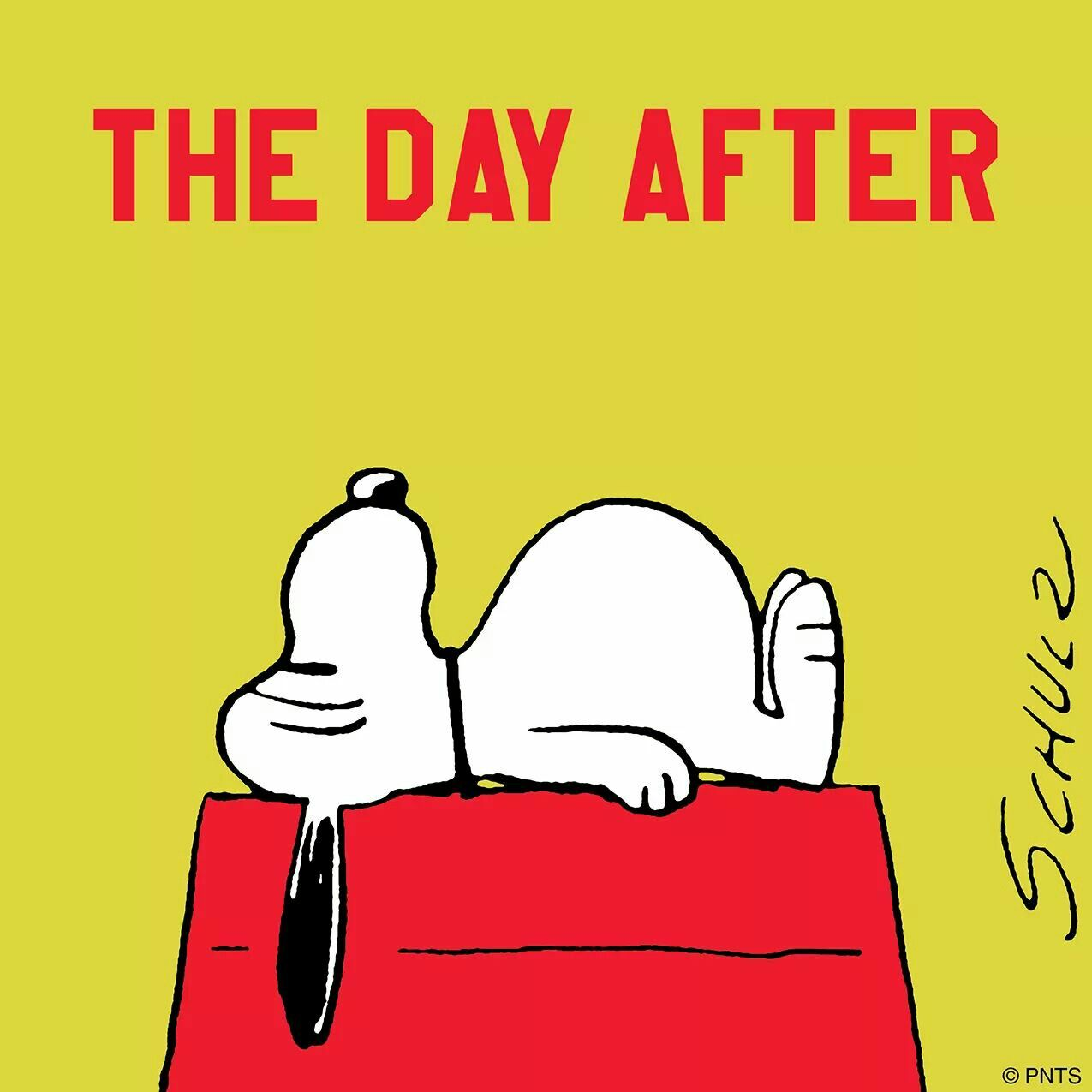 The Day After Thanksgiving Snoopy Peanuts Stuffed Ate Too Much