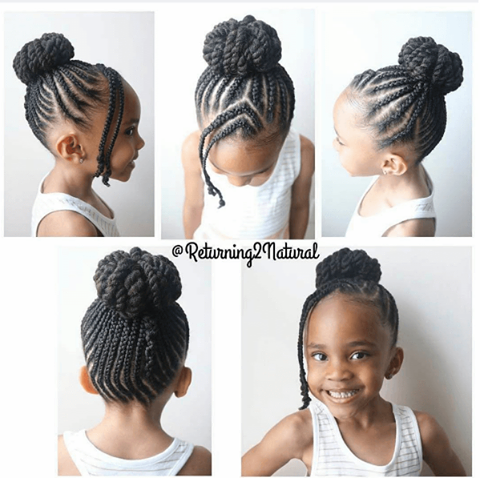 Épinglé sur Kids natural hair
