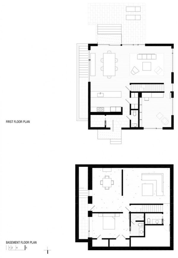 Comfortable And Minimalist Cube Shaped Home With Modern Features In 2020 How To Plan Minimal House Design House Plans
