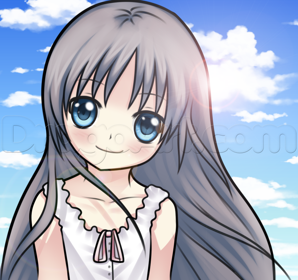 How to draw an anime kid step by step anime people anime
