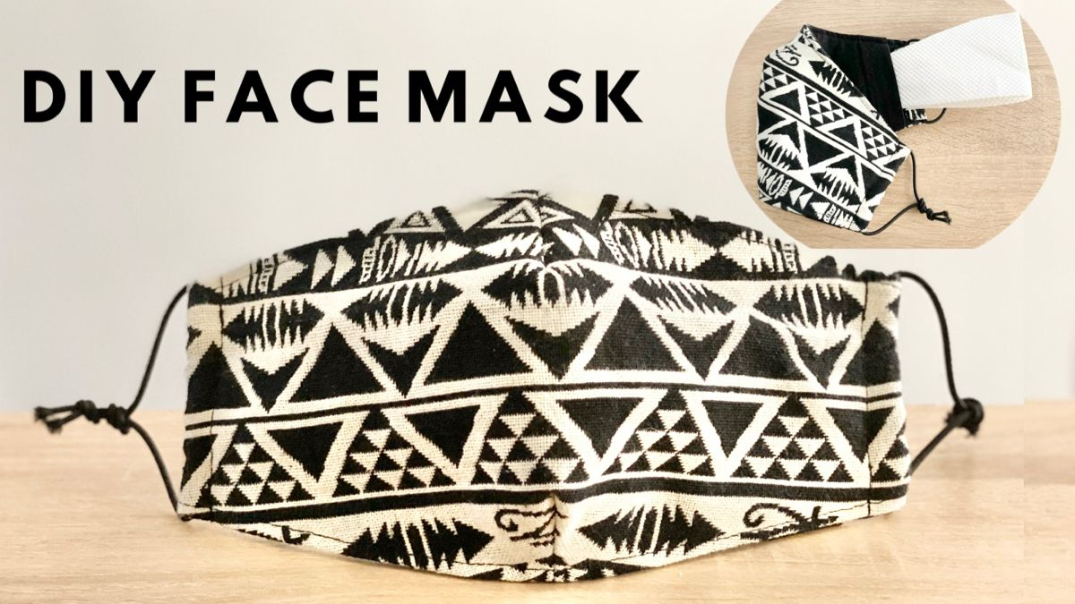 Photo of DIY Face Mask with Filter Pocket | Easy Pattern