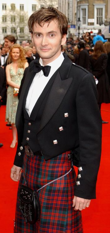 Men in Kilts - David Tennant!
