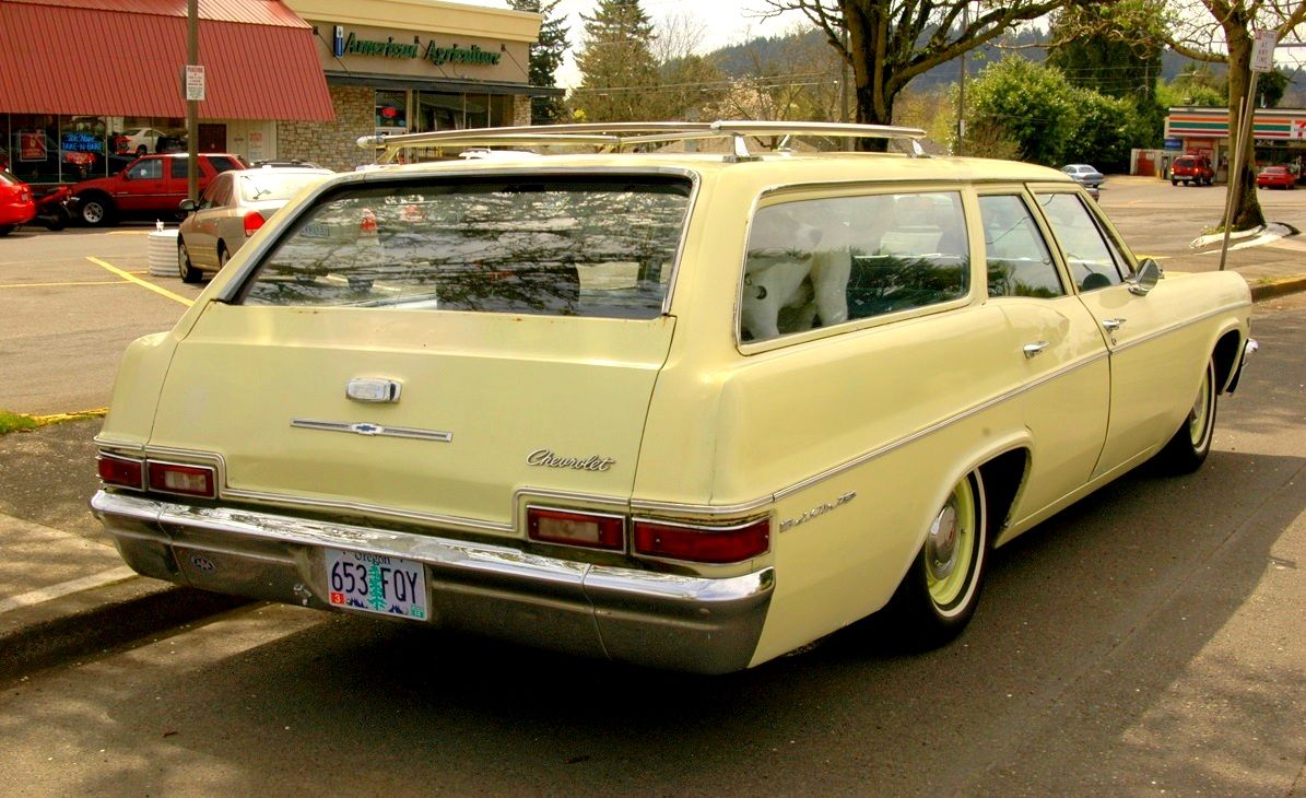 1966 Chevrolet Bel Air Station Wagon Station Wagon Cars Station