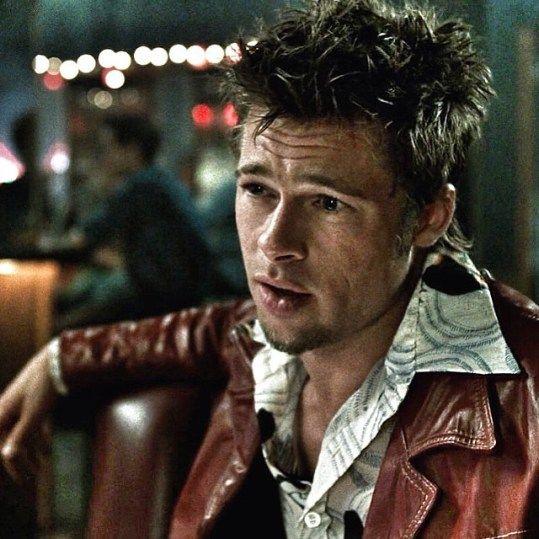 Brad Pitt Fight Club Hairstyle Brad Pitt Fight Club Brad Pitt Haircut