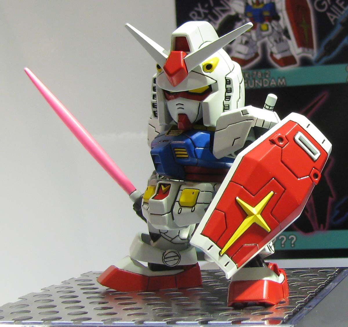 静岡ホビーショー 2015年 SD GUNDAM EX-STANDARD RX-78-2 Gundam: Photoreport Hi Resolution Images http://www.gunjap.net/site/?p=246229