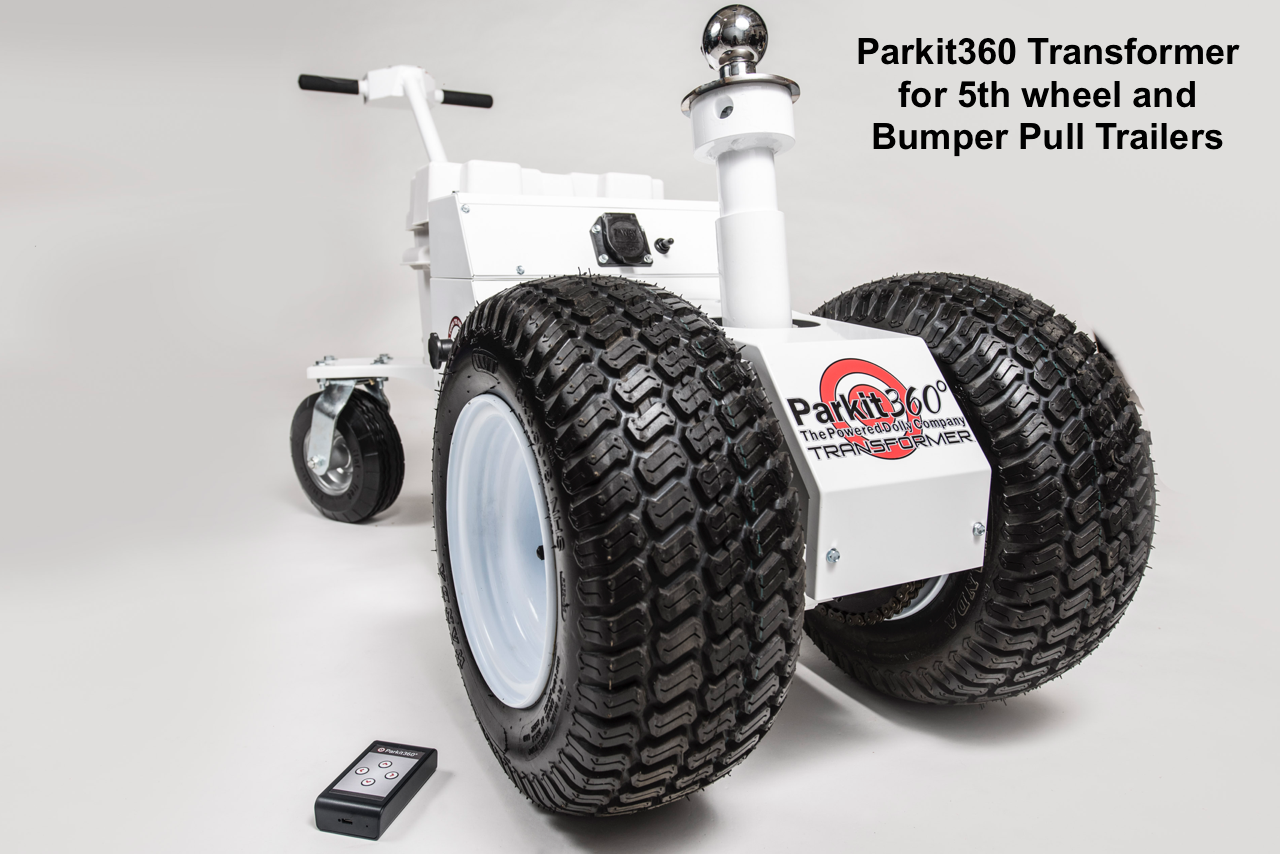 medium resolution of rv trailer electric powered trailer dolly trailer mover for boat or rv camper transformer wireless 5th wheel rv trailer mover www parkit360 com toll