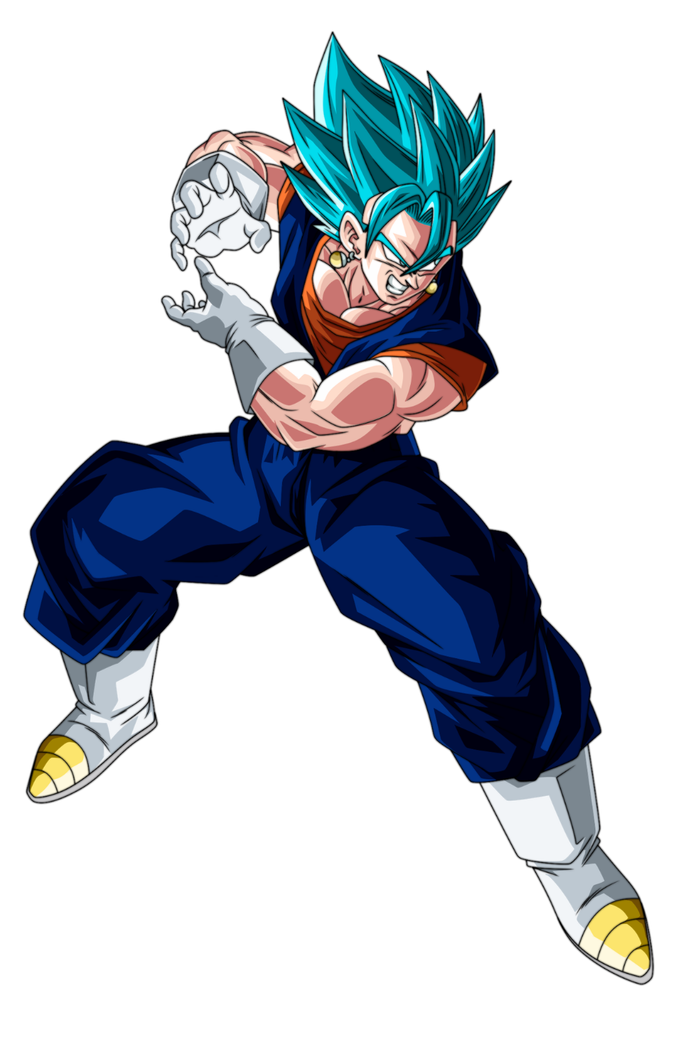 Vegetto Blue Render 2 By Ssjrose890 On Deviantart Anime Dragon Ball Super Dragon Ball Super Manga Dragon Ball Art