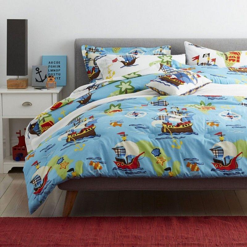 Aye Matey Bedding Bed Kids Sheets Kids Comforters