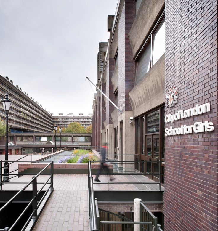 Bisset Adams Extension For The City Of London School For Girls Barbican London City Of London School London City Barbican