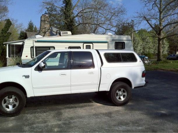 2003 Ford F150 Camper Shell 1 Truck Ideas Camper Shells