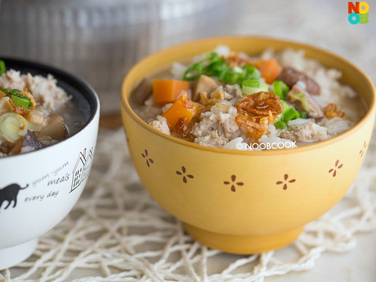 Easy Chicken Porridge Recipe Noob Cook Recipes Recipe Chicken Porridge Easy Chicken Cooking