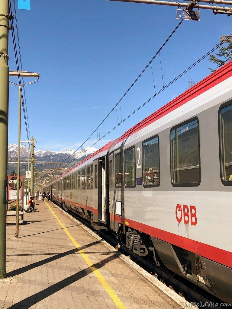 Taking A Train From Innsbruck To Brixen In South Tyrol öbb Eurocity South Tyrol Train Italy Travel