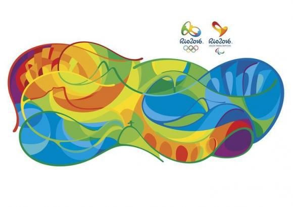 Handout of images which are part of the new visual identity of the 2016 Rio de Janeiro Olympics