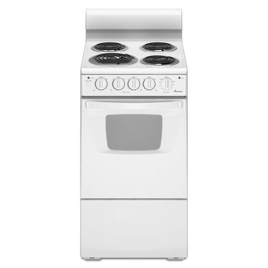 Shop Amana 2.6-cu Ft Freestanding Electric Range (White