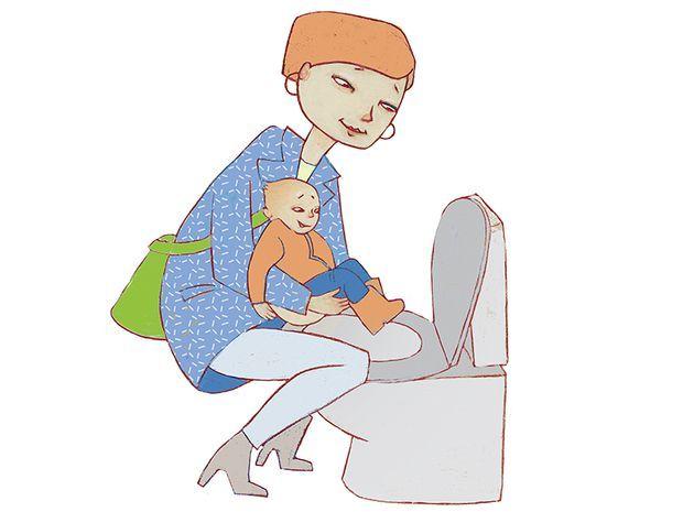 Den richtigen Moment erwischen: Babys geben klare Signale, aber man muss sie kennen