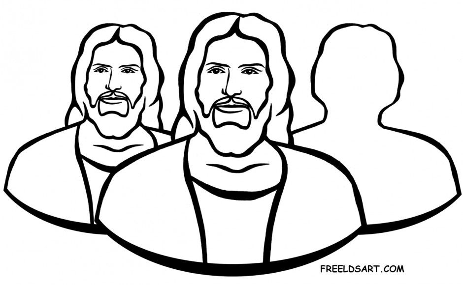 Clip Art Holy Ghost Lds Coloring Page With Images Holy Ghost Lds